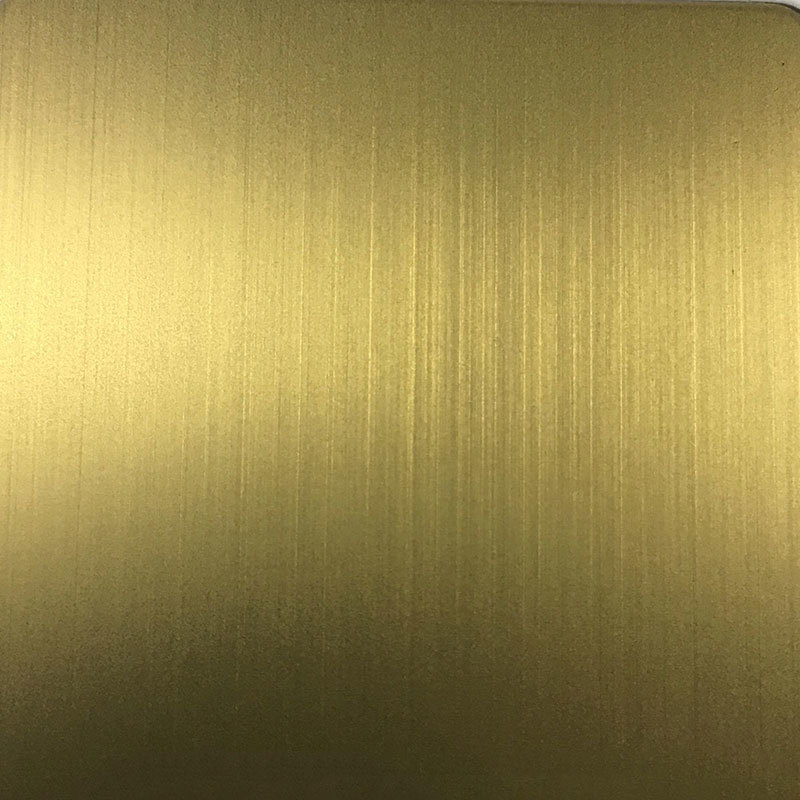 Stainless Steel Sheet With Colored Surface