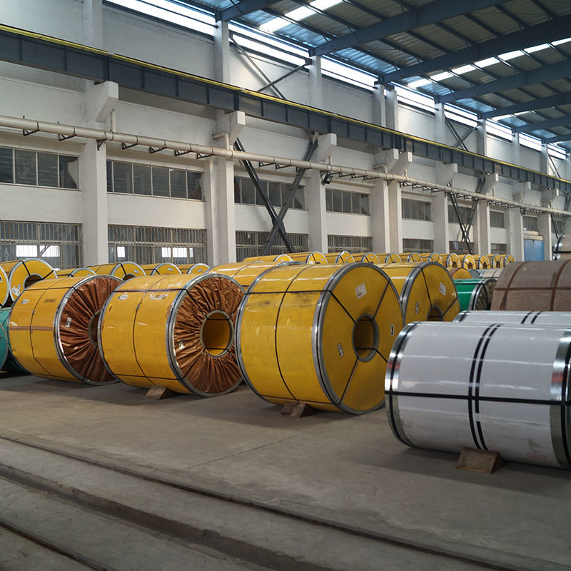 400 Series Brush Polish Stainless Steel Coil