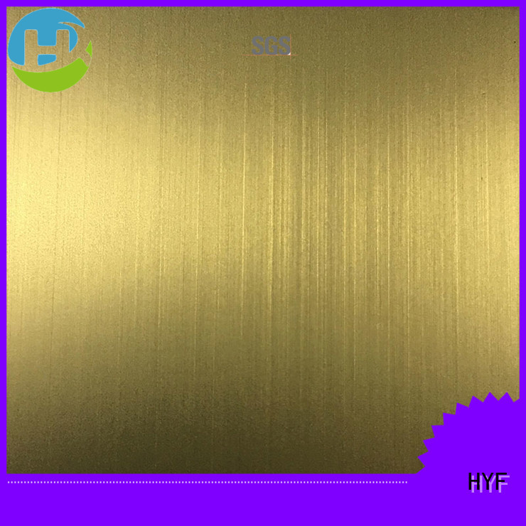 HYF stainless 201 stainless steel sheet Supply for shipbuilding
