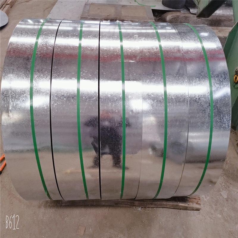 Electroplating galvanized coil