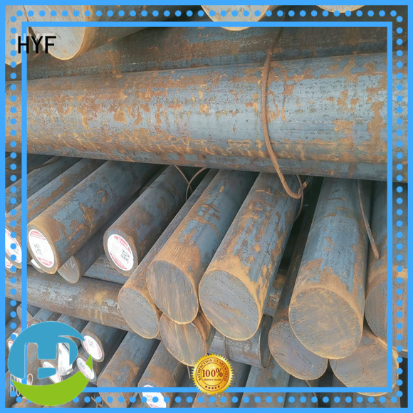 HYF round alloy round bar for light industry