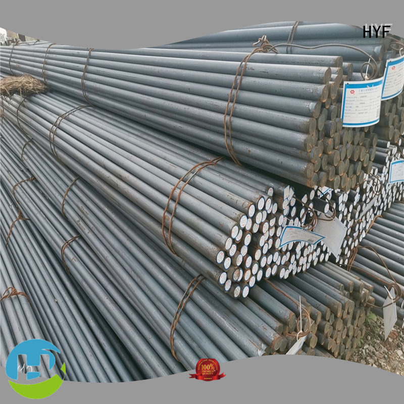 HYF Top alloy round bar company for light industry