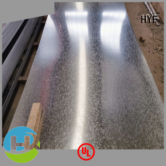 HYF grades galvanized plate manufacturers for chemical industry