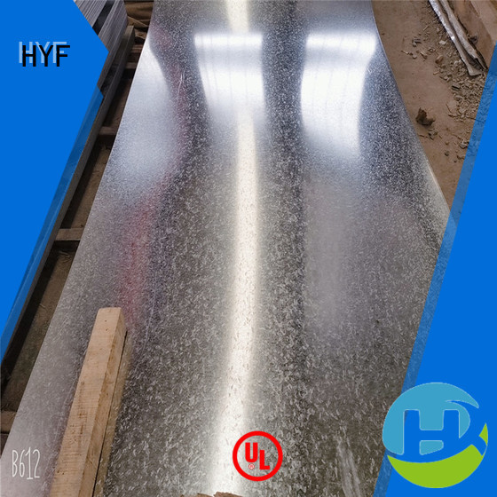 HYF New galvanized plate manufacturer Supply for petroleum