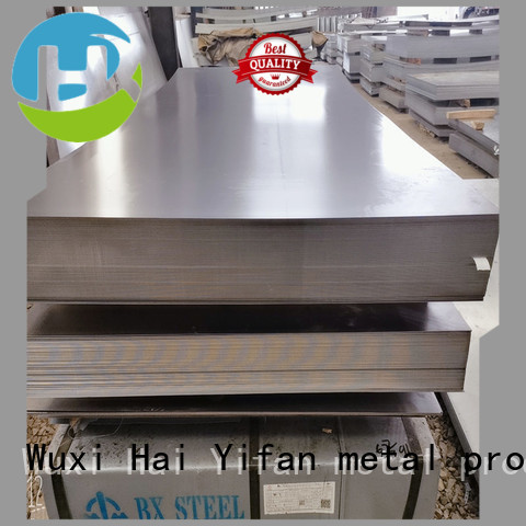 HYF New carbon steel plate price manufacturers for chemical industry