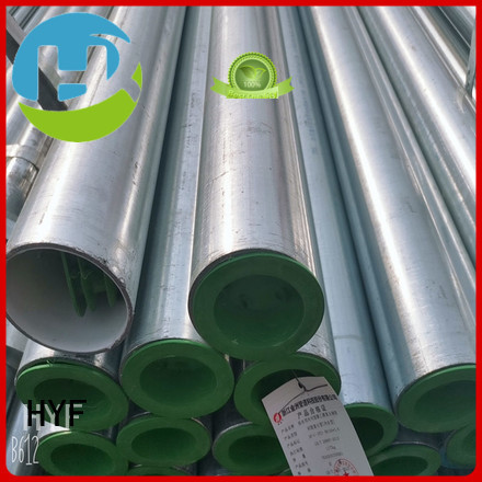 HYF Wholesale galvanized pipe Supply for industrial transmission pipeline for mechanical components