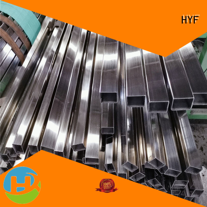 HYF Top 304 stainless steel pipe for business for industrial transmission pipeline for mechanical components