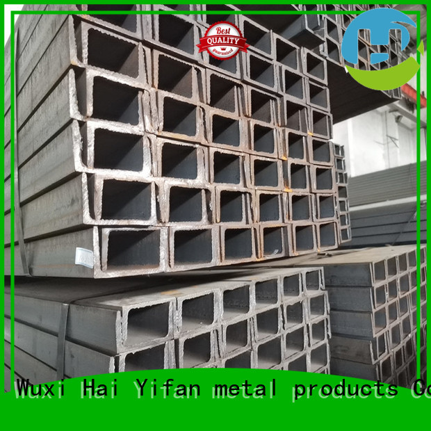 HYF carbon carbon steel profiles for industrial transmission pipeline for mechanical components